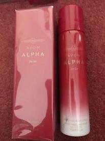 Alpha set for Her