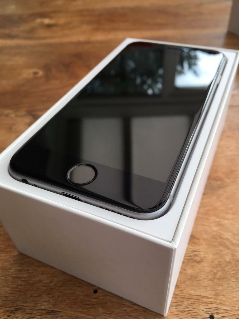 iphone 6 space gray 16gb vodafone in hove east sussex gumtree. Black Bedroom Furniture Sets. Home Design Ideas