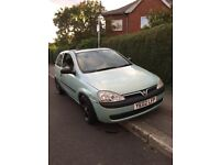 2002 Vauxhall Corsa 1.0 Petrol 8 Months Mot All Papers Service Full Electrics Good Condition Car