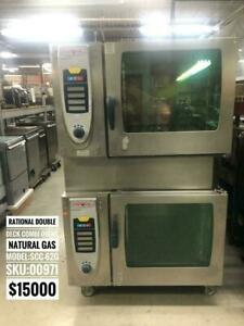 RATIONAL COMBI OVENS CONVECTION OVENS