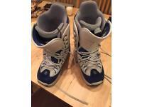 Burton snowboard boots - size 8