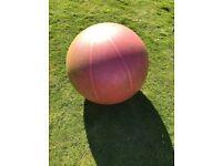 Pregnancy/fitness/yoga balance ball