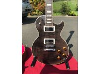Gibson Les Paul Standard 2016 Trans Black - Stunning and Mint!