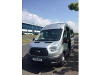 Executive Minibus Hire,16 and 8 passenger seat buses plus driver.
