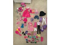 Excellent condition kids Barbie house, Barbie camper van, Barbie car, Barbie horses stable