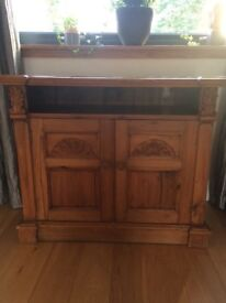 Shabby Chic Solid Wood Television Unit