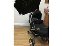 pram pushchair silver cross