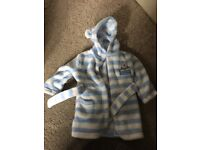 Baby boys dressing gown