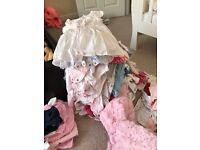 Baby girls clothes new or worn once 0-3 3-6 6-9 9-12