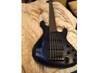Ibenez 5 String bass guitar