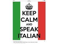 ITALIAN lesson with qualified teacher (Richmond)