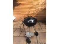 KETTLE BARBECUE - LandMann 11316 with cover details acceptable condition