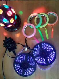 Black light Party Kit