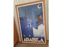 Café Arabica – Framed picture