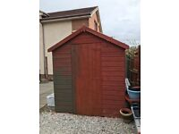"""Shed Wooden 8' X 6"""""""