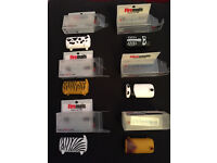 Set of 6 Novelty cigarette lighter COVERS, New in boxes. Xmas gift idea??