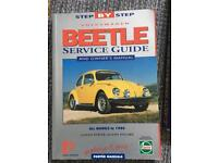 Vw beetle service guide book