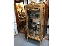 Gold guild display cabinet