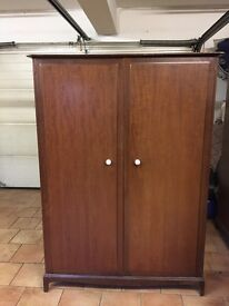 Stag Double Wardrobe - recycling project! £65 each
