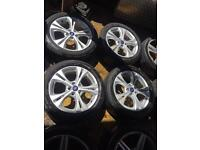 "17"" GENUINE FORD FOCUS MONDEO GALAXY S MAX SET OF 4"