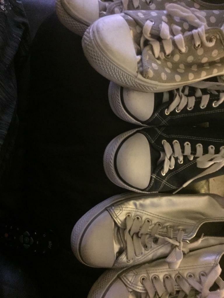 e4953de38d5f Women s plimsole shoes size 7 pending pick up