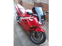 92 vfr 750 in outstanding condition with full luggage