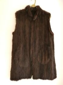 Real Mink Gilet / Waistcoat from KC Collection