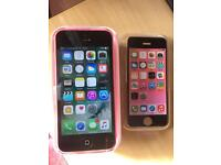 iPhone 5c Vodafone/ Lebara pink Excellent condition boxed