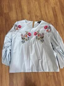 Reduced in price! Topshop blouses size 12 and 10 new with tags