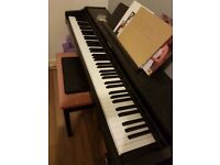 Technics 88 note hammer action piano