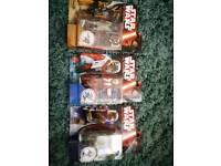 Set of 3 star wars force awaken figures brand new BARGAIN