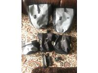 Ortlieb Pannier Collection (touring bike panniers, front, back and handle bar)