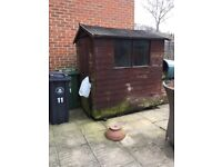 Shed 6 x 4 good condition, needs dismantling and is for collection only