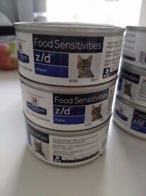 Z/d cat food.