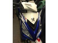 Peugeot Speedfight3 Registered 2016, Blue 125cc