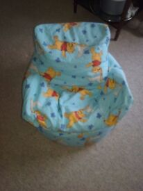 Child's Winnie the Pooh Bean bag good used condition