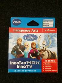 Vtech frozen innotab max game brand new unopened