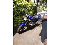 Honda Hornet 600cc Blue