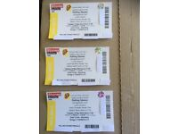 Rolling Stones: 3 x Gold Circle tickets Tuesday 22nd May Olympic Stadium