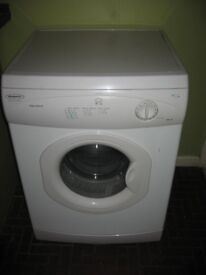 Hotpoint full size 6kg vented tumble dryer