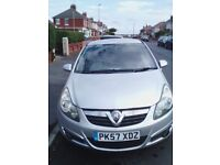 Corsa 2 Seater panel van Sportive CDTI 3 Door, Silver, 2007, Low Mileage, Starts every time