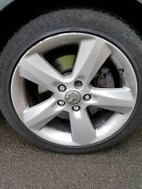 Vauxhall 17inch alloy