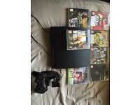 PS3 250gb with controller, pad charger and 16 games