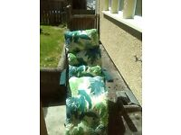 Recliner sun lounger in excellent condition