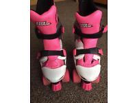 No Fear Girls Quad Skates roller boots adjustable