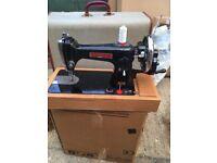Trident sewing machine