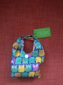 ECO CHIC FOLDABLE shopping bag