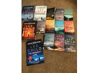 Lee child -jack reacher book collection x14