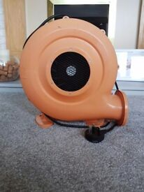 Bouncy castle air blower
