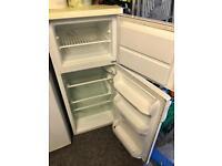 Zanussi small fridge with freezer compartment